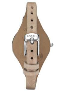 FOSSIL Armbanduhr ''GEORGIA'' hellbeige / silber