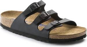 Birkenstock Florida - Slippers - Dames - Zwart - Maat 40