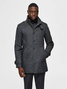 Slhnoah Wool Coat B Noos 16075847
