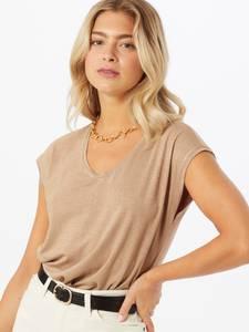 PIECES T-Shirt ''Billo'' beige