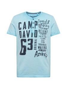 CAMP DAVID Shirt dunkelblau / blau