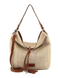 TAMARIS Handtasche ''Claudia'' karamell / beige