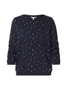TOM TAILOR DENIM Sweater nachtblau / mischfarben