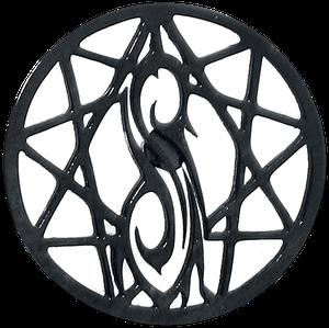 Slipknot Nonagram Logo Ohrstecker