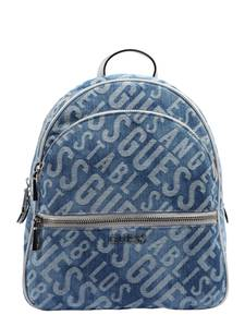 GUESS Rucksack ''Manhattan'' silber / blue denim