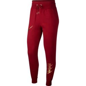 Nike Sportswear Hose NSW PANT BB SHINE rot