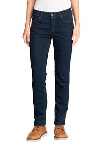 Stayshape Slim Straight Jeans - Fleecegefüttert