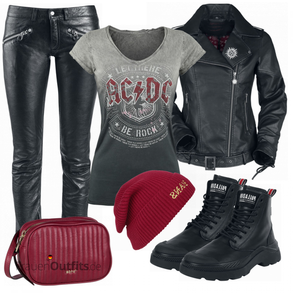 ACDC Shirt FrauenOutfits.de