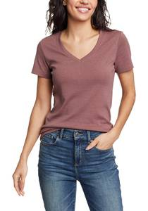 Favorite Shirt - Kurzarm mit V-Ausschnitt