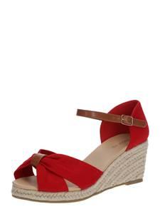 ABOUT YOU Sandalette ''Sarina'' kirschrot