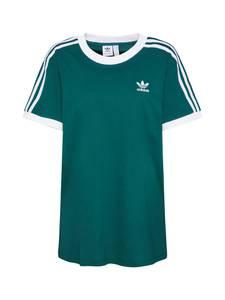 ADIDAS ORIGINALS Shirt ''3 Stripes'' grasgrün / weiß