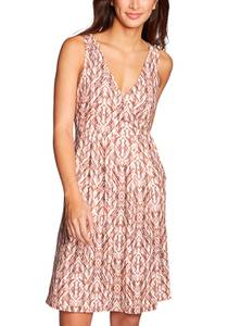 Aster Crossover Kleid - Bedruckt