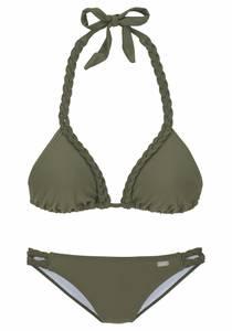 BUFFALO Triangel-Bikini oliv