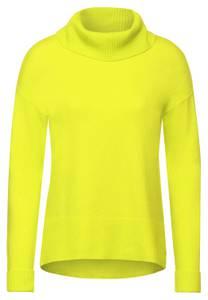 CECIL Damen Pullover mit Rollkragen in Gelb