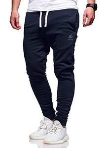 JACK & JONES Herren Jogginghose Sweat Pants Trainingshose Freizeithose Joggers Streetwear (Medium, Sky Captain)