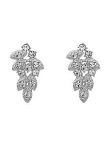 LILY AND ROSE Ohrringe ''Lulu'' silber / transparent