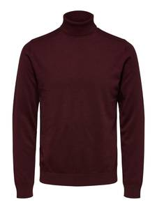 SELECTED HOMME Pullover ''Berg'' weinrot