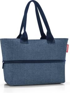 Reisenthel Shopper E1 Shopper Schoudertas - 12L - Twist Blue Blauw