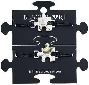 Blackheart Puzzle Armband-Set