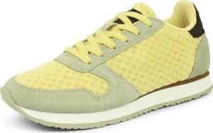 WODEN Sneaker hellgelb / pastellgrün / schwarz