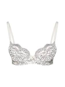 LASCANA Push-Up-BH creme / schwarz