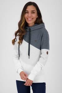 Alife and Kickin Sweatshirt ''Stacy'' marine / weiß / hellgrau / braun