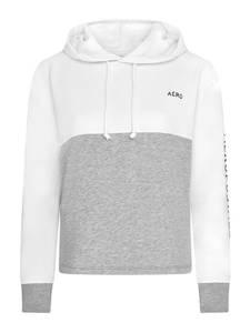 AÈROPOSTALE Sweatshirt weiß / graumeliert