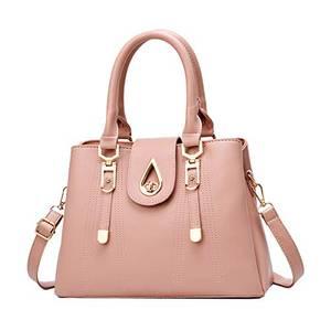 SDINAZ Damenhandtaschen Mode Schultertaschen Shopper Umhängetaschen Henkeltaschen DE99 Pink