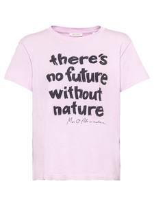 Marc O''Polo T-Shirt pastelllila / schwarz