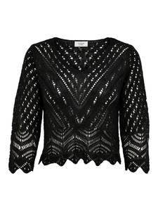 JACQUELINE de YONG Pullover schwarz