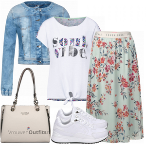 Lichte outfit VrouwenOutfits.nl