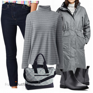 Winterlicher Look FrauenOutfits.de