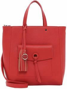 TAMARIS Handtasche ''Carolina'' rotmeliert