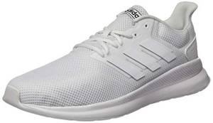 adidas Herren Runfalcon Laufschuhe, Weiß (Ftwbla/Ftwbla/Ftwbla 000), 43 1/3 EU