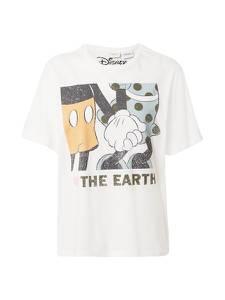 JACQUELINE de YONG Shirt ''NINA'' weiß / dunkelgrau / hellblau / apricot / khaki