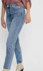 Only EMILY LIFE High Waist Straight Fit Dames Jeans - Maat 29 X L32