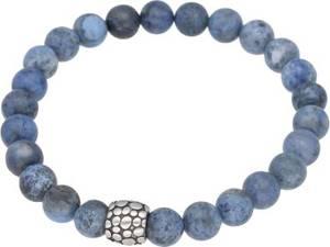 Firetti Armband Heilstein-Armband mit Kugeln aus Mineralstein, mit Dumortieritkugeln