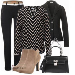 Casual Business Look FrauenOutfits.ch