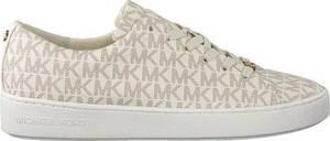 Michael Kors Keaton Lace Up Dames Sneakers - Vanille - Maat 37.5