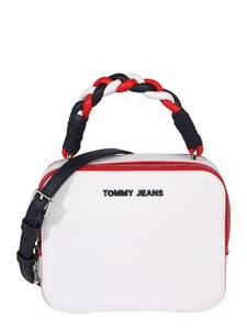 Tommy Jeans Tasche weiß / marine / rot