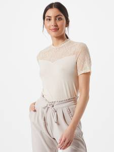 PIECES Bluse ''PINA'' beige