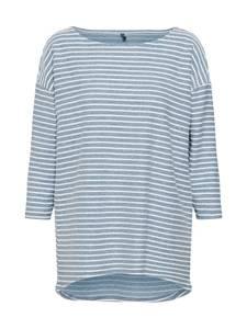 ONLY Shirt ''Elly'' rauchblau / weiß