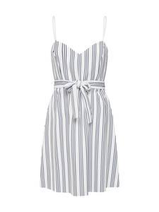 ONLY Kleid TINA blau / weiß