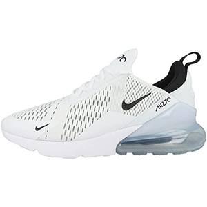 Nike Herren AIR MAX 270 Laufschuhe, Weiß (White/Black-White 100), 43 EU