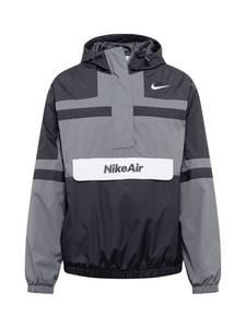 Nike Sportswear Jacke dunkelgrau / schwarz