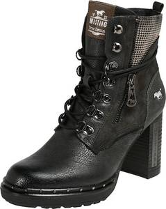 MUSTANG Stiefelette graphit
