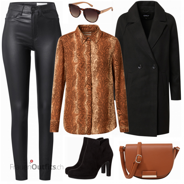 Snake Businessoutfit FrauenOutfits.ch