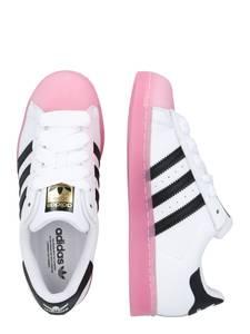 ADIDAS ORIGINALS Sneaker ''Superstar'' schwarz / pink / weiß