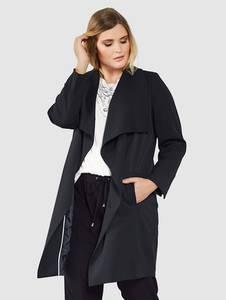 Mantel schwarz Sara Lindholm