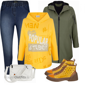 Cooler Winterlook für Plus Size FrauenOutfits.de